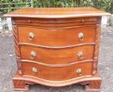 Mahogany Small Deep Chest of Drawers